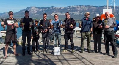 les résultats de l'Open lavaret du lac du Bourget