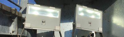 De nouveaux projecteurs pour le port de la Maison des Pêcheurs