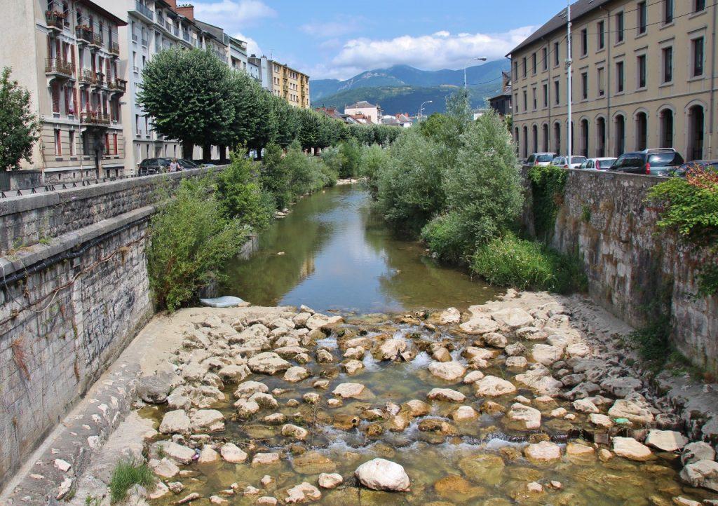 Le parcours de pêche «prendre et relâcher» de la Leysse à Chambéry