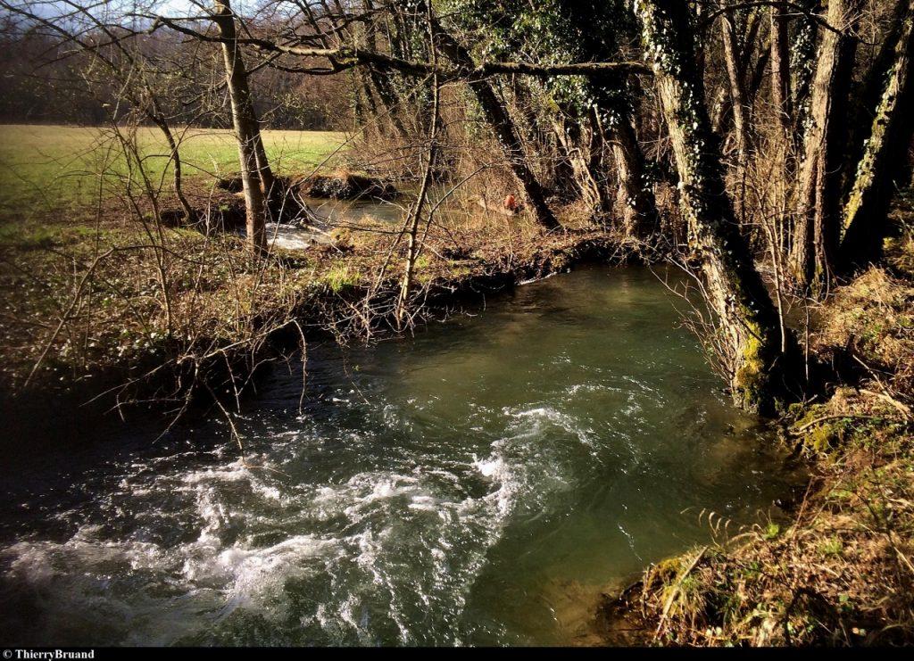 Le parcours de pêche du Glandon