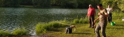 École de pêche : cours de pêche adultes avec les Pêcheurs Chambériens