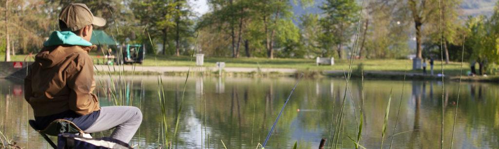 Reprise de la pêche sur le plan d'eau de Challes-les-Eaux